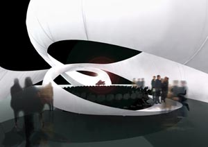JS Bach Chamber Music Hall by Zaha Hadid Architects